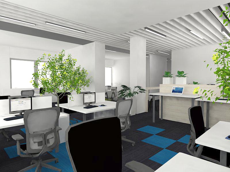 open space, komfort pracy