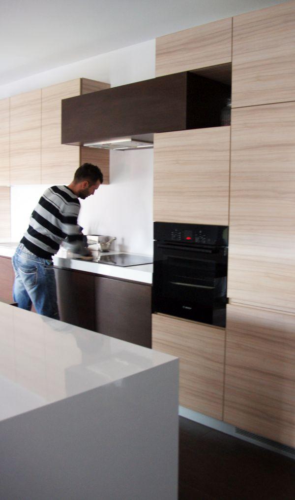 projekt kuchni, zabudowa kuchenna, piekarnik pod zabuowę, kuchnia na wymiar, projekt warszawa