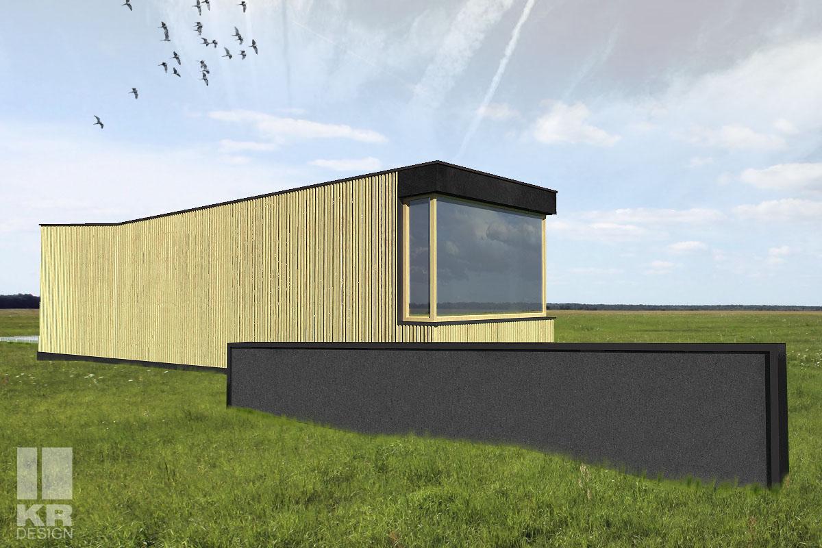 dom letniskowy, projekt indywidualny, dobreprojekty, nowoczesna stodoła, projekt indywidualny