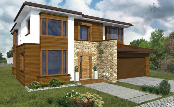 proste rozwiązania projektowe, pomysł na dom, nasz dom, budowa domu,KRDESIGN. DOMY INDYWIDUALNE