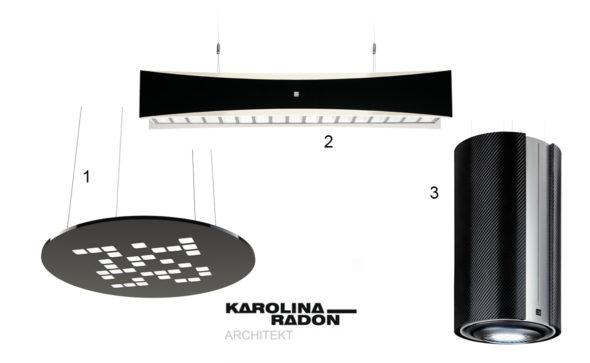 ekskluzywne wnętrza biurowe, wysokiej jakości oprawy ośietleniowe, krdesign. flash&dq