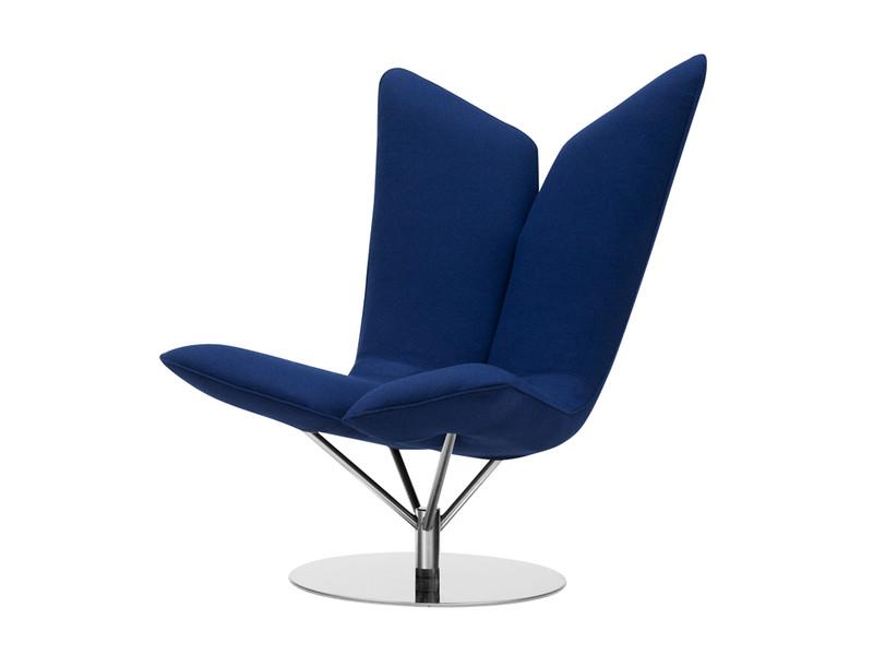piękny fotel, architektura wnętrz, projektowanie, wow, prosta forma, cos nowego, granatowy