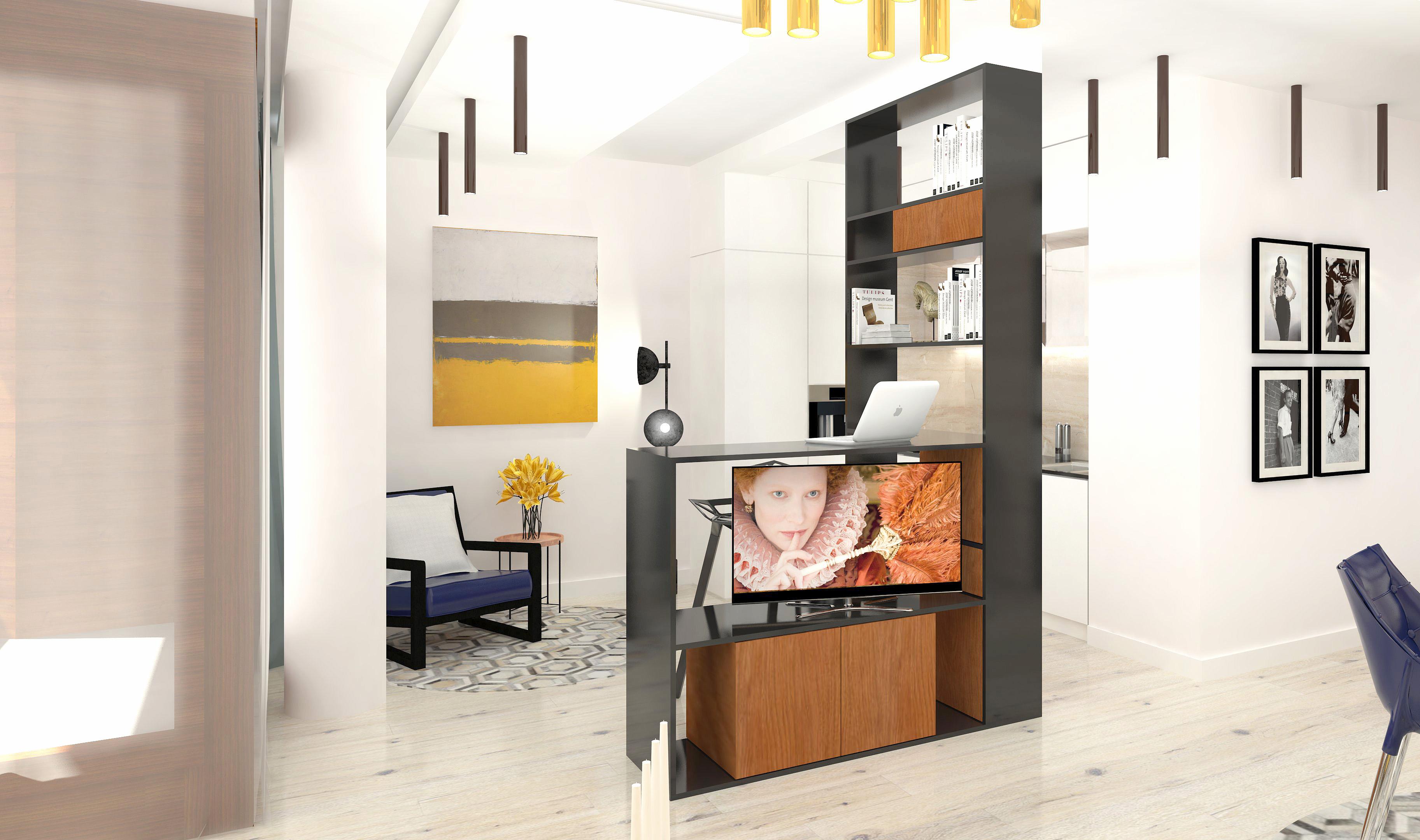 projektowanie wnętrz luksusowych, salon miodowy, architekt karolina radoń, grupa napollo,