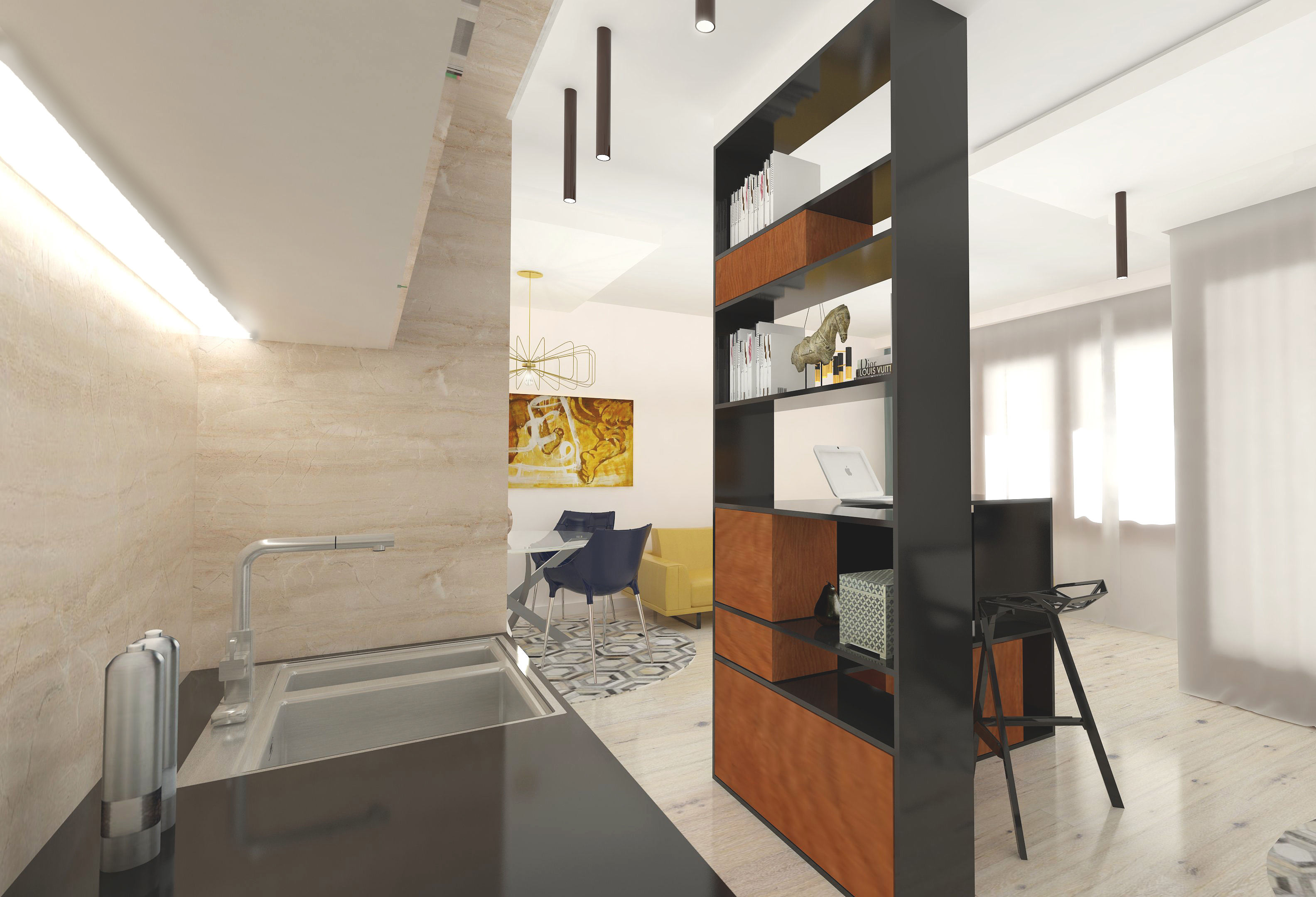 napollo group collaboration, honey, apartment, napollo, bright, spacious
