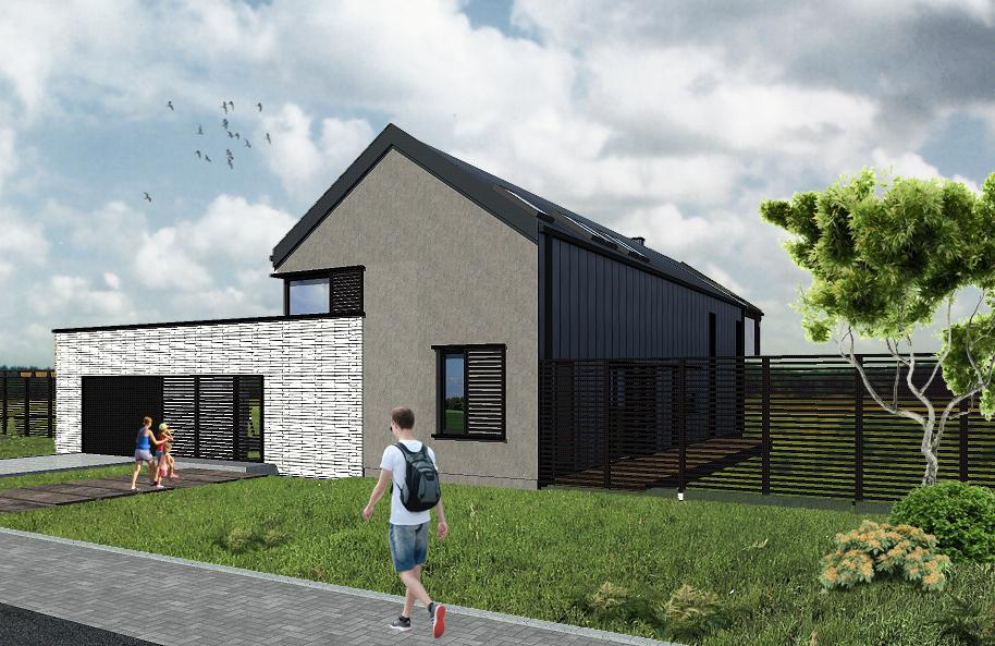 projekt stodoła