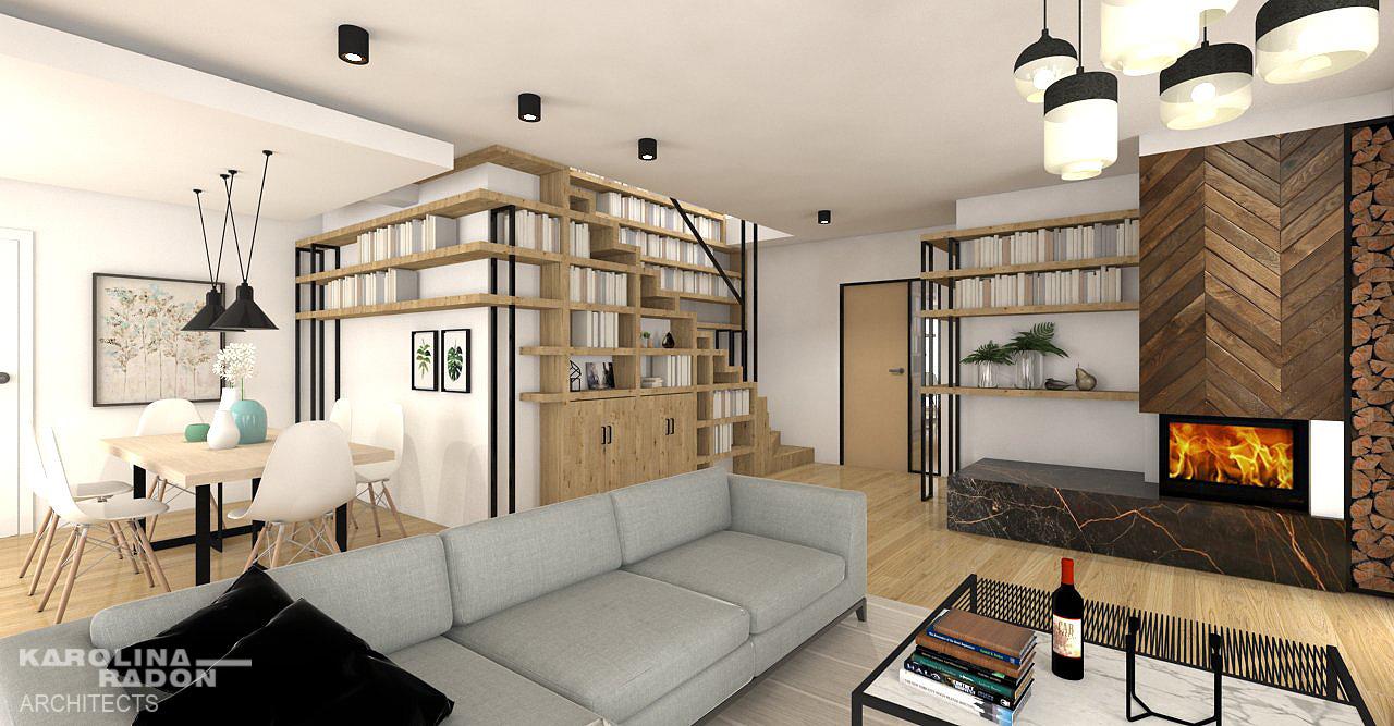 karolina radoń, interior design, salon, livingroom, happy design, bright