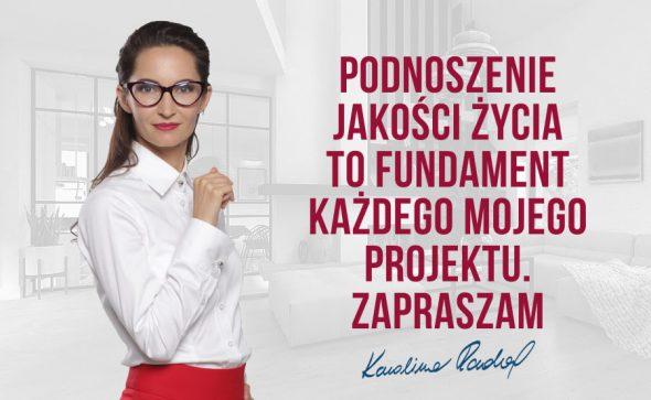 Architekt Karolina Radoń - Podnoszenie jakości życia