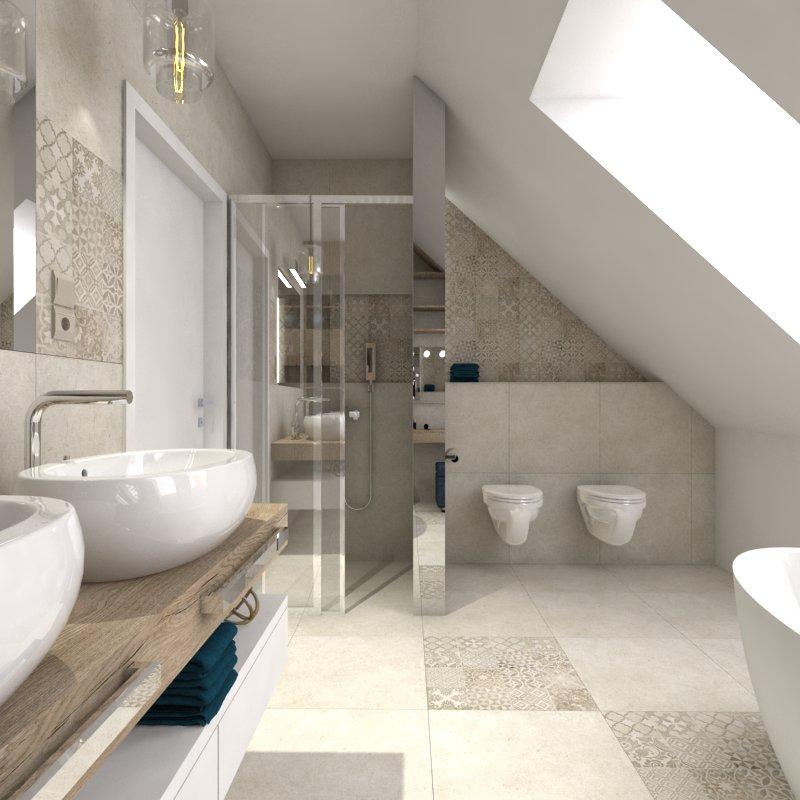 łazienka i oświetlenie