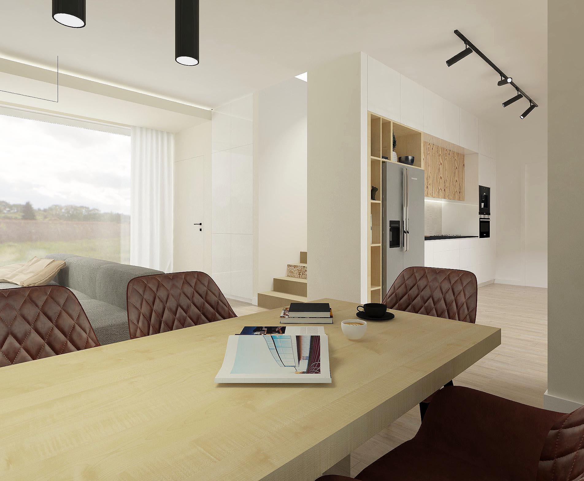 dom jednorodzinny-wnętrze